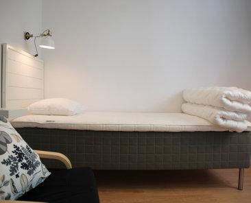 Vandrarhem utanför Umeå enkelrum