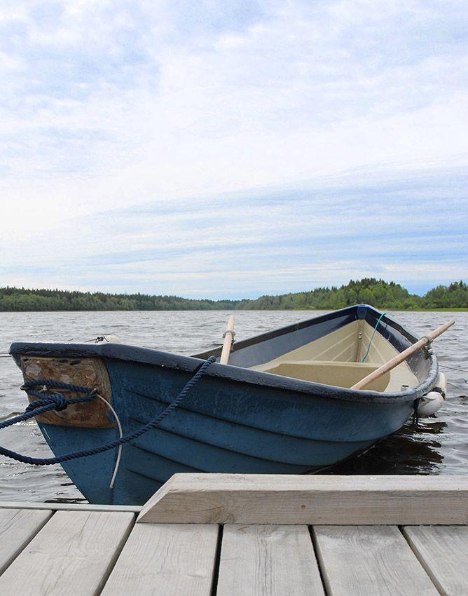 Hyr bastu, båt eller cykel på vandrarhem