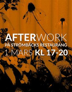 Afterwork den 1 mars