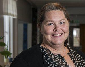 Jenny Eriksson, lärare på Allmän kurs fokus.