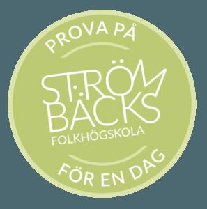 Prova på Strömbäcks folkhögskola för en dag