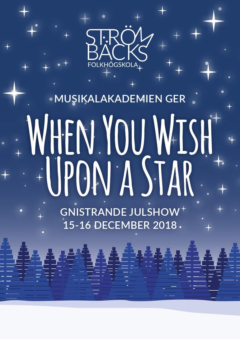 Affisch When You Wish Upon a Star