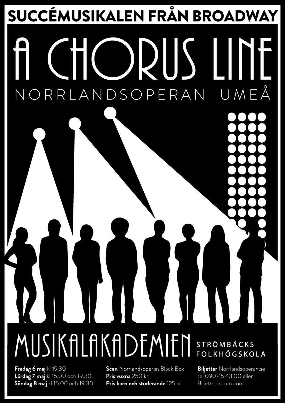 Affisch A Chours Line